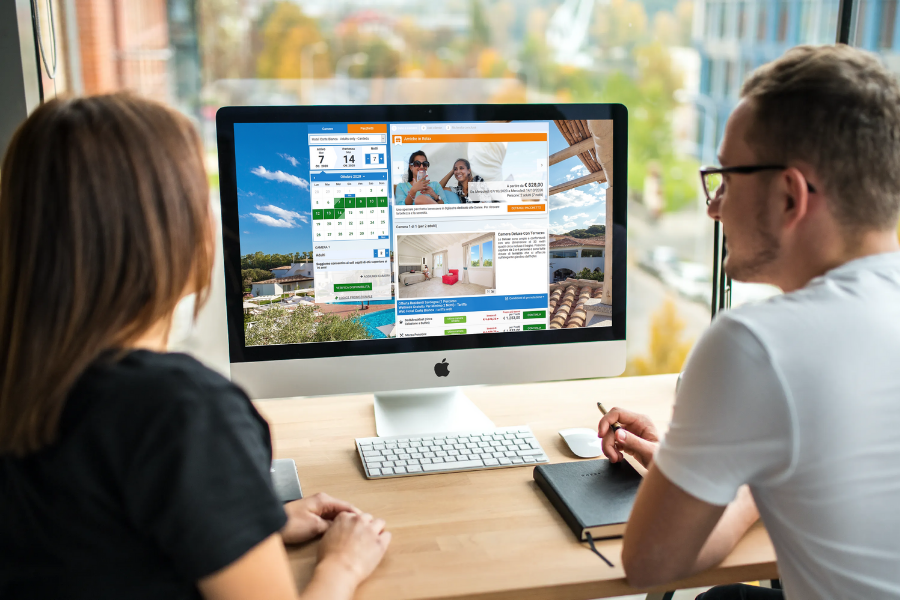 booking engine per hotel camping myguestcare